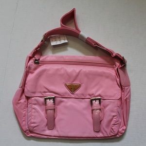 Pregio Shoulder Bag Style 38-414 Pink